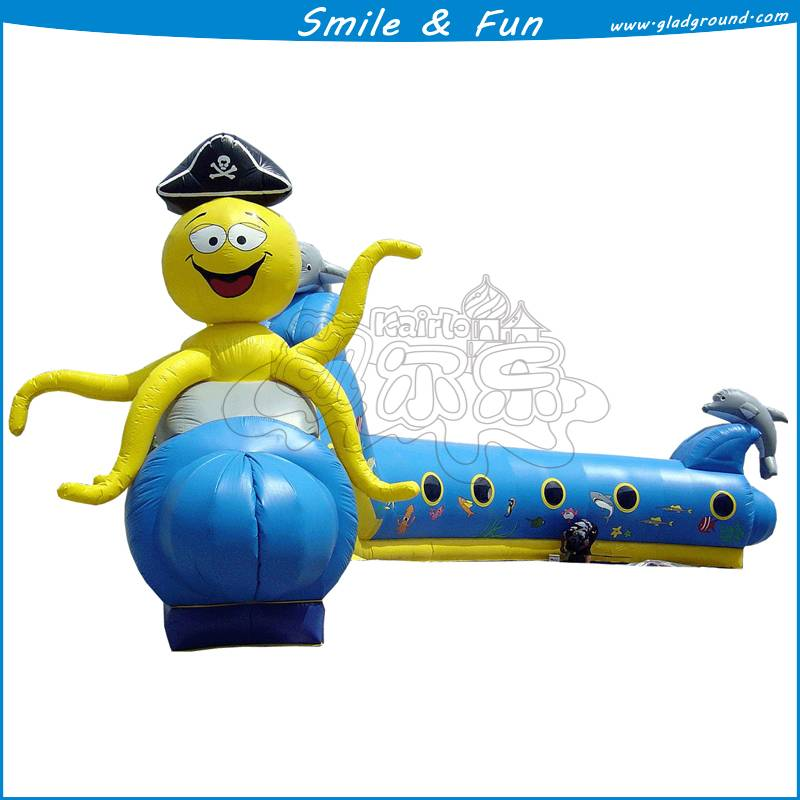 Inflatable play litest of the train with PVC for sale