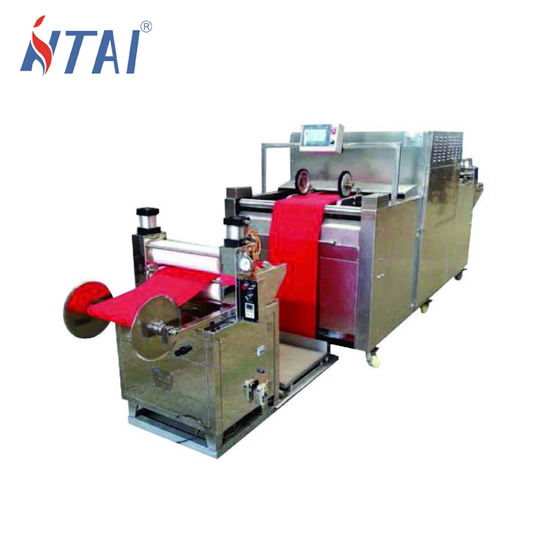 HTR-800 pilot continuous infrared heat setting machine