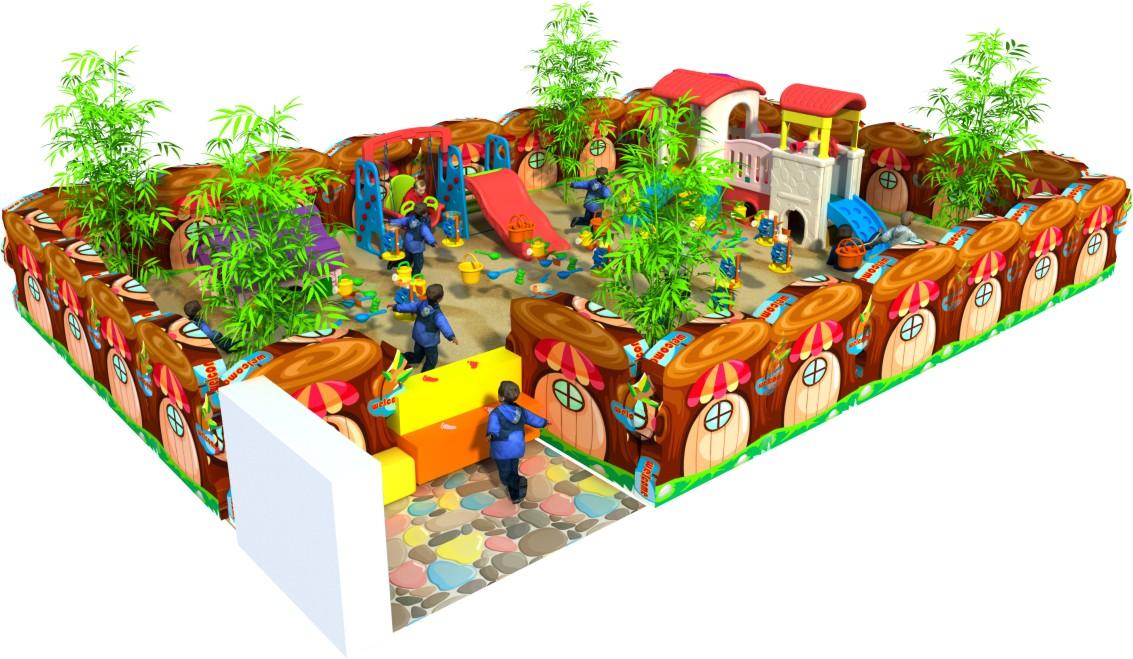 Hlb 15011 Toddler Play Arear Preschool Indoor Play Equipment