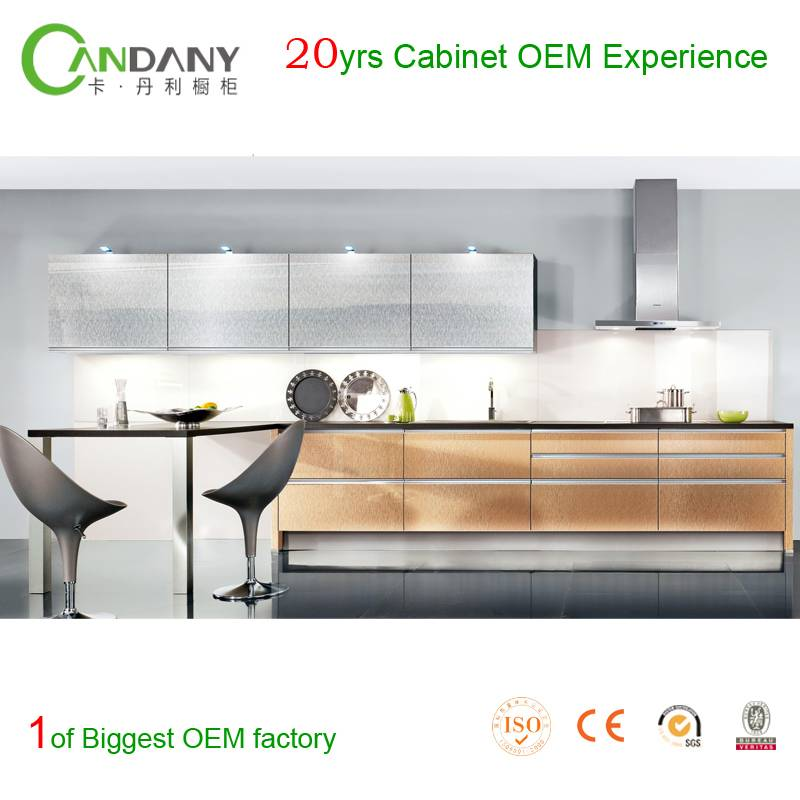 20 Yrs in OEM/ODM Most Eco-friendly Acrylic&Melamine Kitchen Cabinet