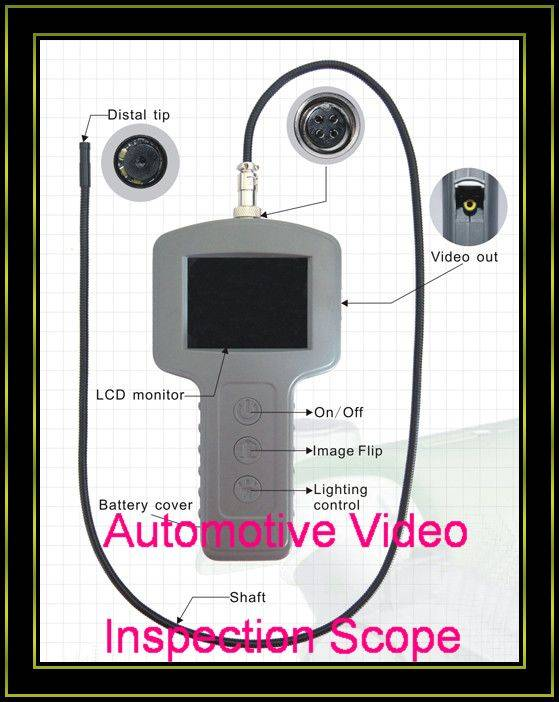 2012 Newest Automotive Video Inspection Scope Truck Endoscope
