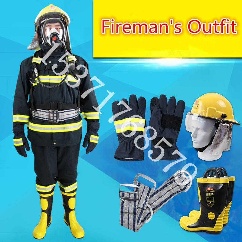 Fire Frighting Suits, Fire Service Fire Equipment,Fire Protective Clothing,Fireman's Outfit