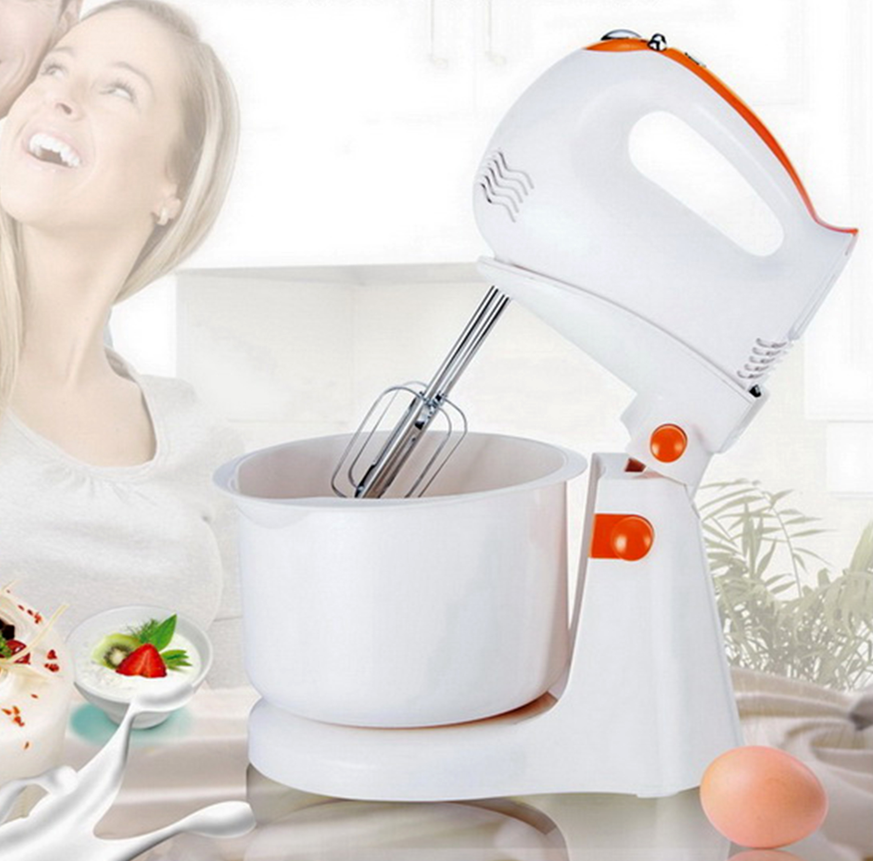 HM82S Electric Stand mixer with 5 speed