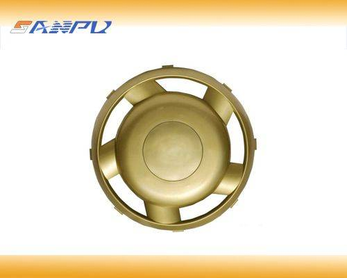 Plastic parts for auto wheel cover made of ABS,precision car mold customized