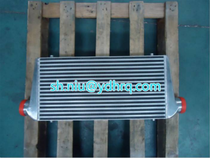 Automible radiator Charge air cooler auto parts China high quality aluminum plate fin heat exchagner