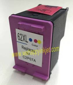 HP remanufactured inkjet cartridge HP62xlc