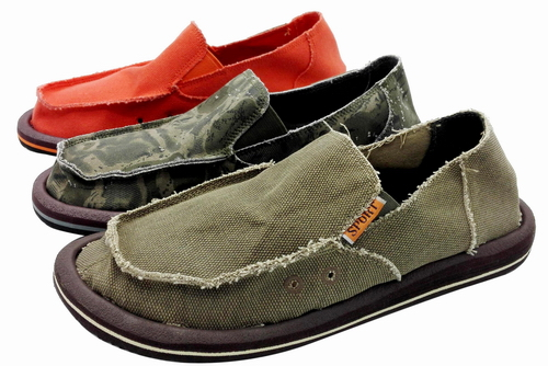 Slip-on canvas shoes FW-CV16258