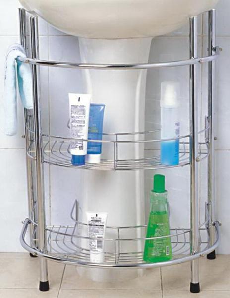 bathroom storage rack, 3 tier metal organizer rack, silver chrome 3 tier bathroom saving shelves
