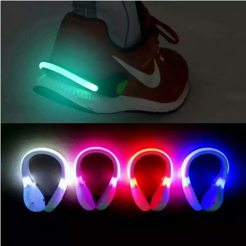 Wholesale Outdoor Safety Flashing Shoe LED Clip Light Wholesale Outdoor Safety Flashing Shoe Cli