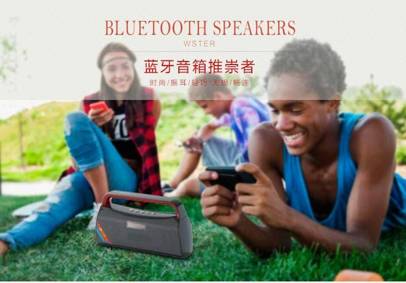 Bluetooth Speaker with FM TF Handsfree Speakers Parlantes Blutooth 3D Surround Subwoofer Stereo HIFI