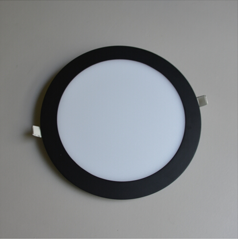 4W 225mm Ultrathin Round Cool White LED Panel Light