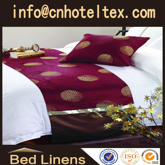 Hotel bed runner bed scarf bed throw bed pad