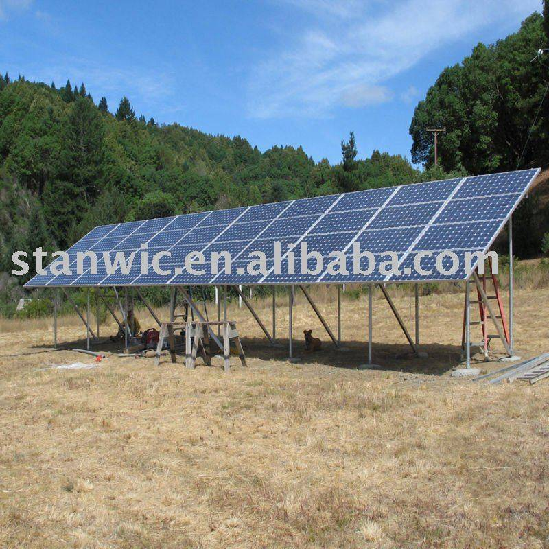 5 kw Ground solar mounting bracket