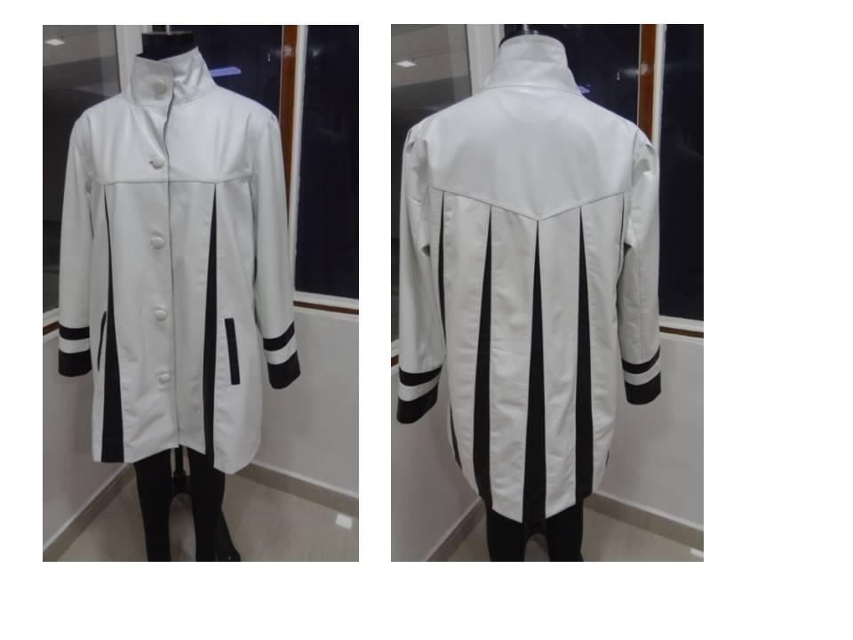 Leather Aqsa Coat