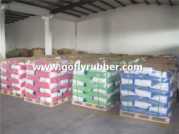 Packing of Colorful EPDM Rubber Granules
