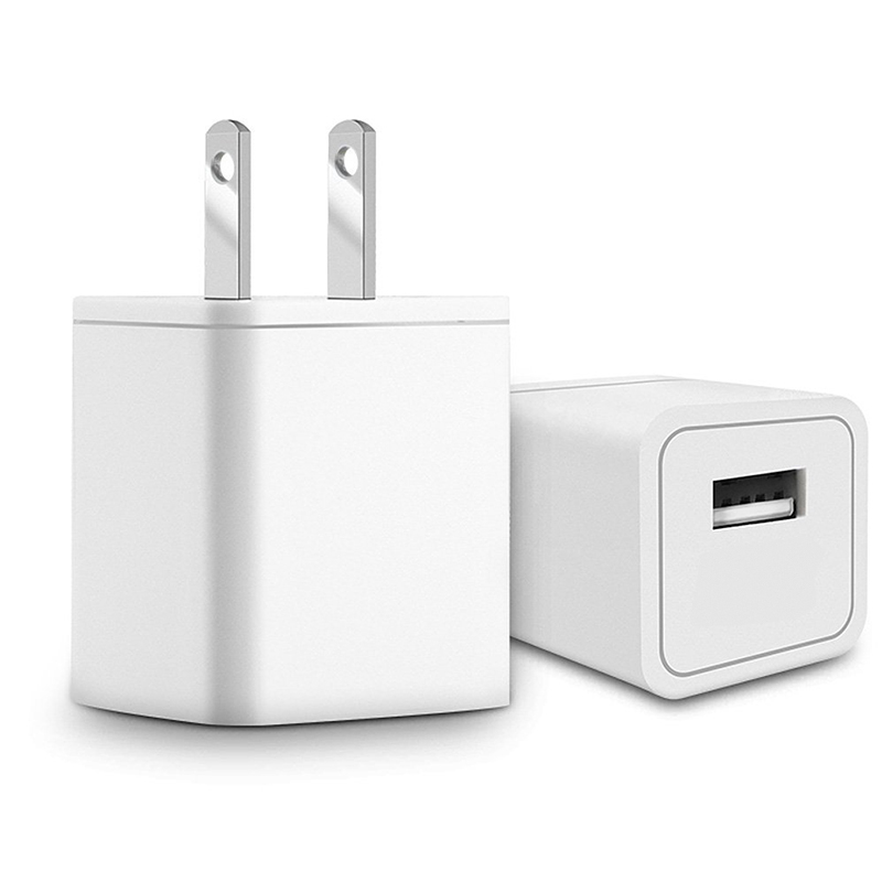 US Wall Charger 5V 1000ma Universal Cell Phone AC USB Charger