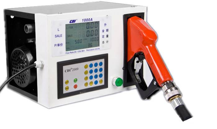 Popular Mobile Electric Fuel Dispenser