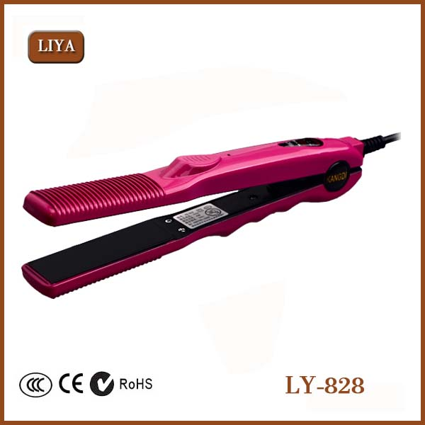 China Fashion Ceramic Flat Iron Hair Straightener With Nice Design Wholesale