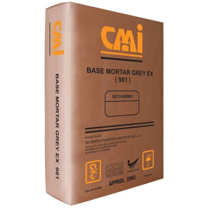 CMI BASE MORTAR GREY EX 981