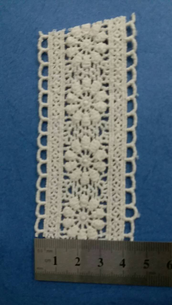 chemical lace for lady's wear/fashionable garment