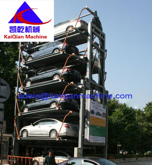Multi-layer Lift-sliding Automated Car Parking System