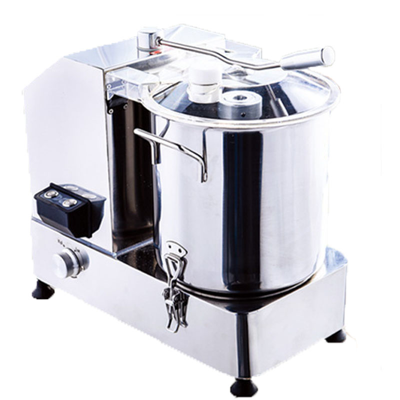 Automatic Desktop Electric Vegetable Chopping Machine , 12L Veg Cutter Machine