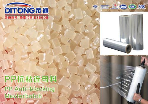 Anti block plastic PP additive masterbatch