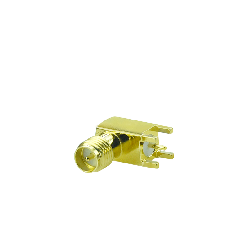 RF SMA right angle female connector for PCB