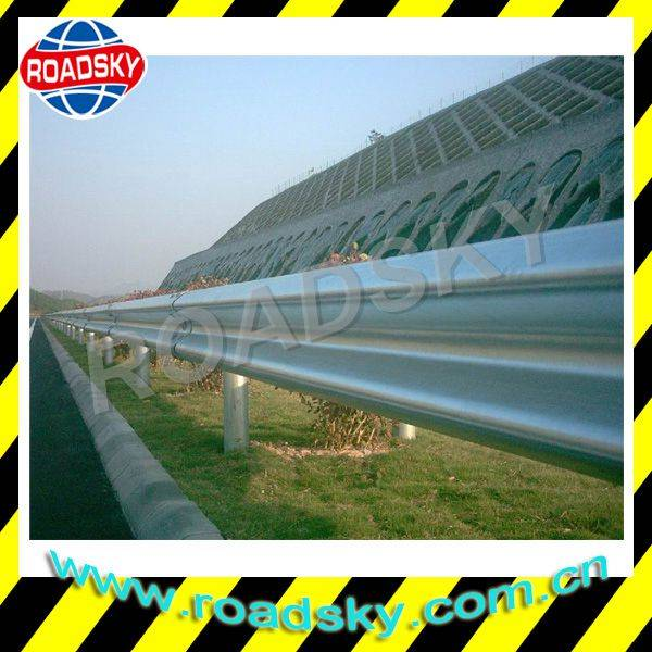 Highway Galvanzied Stainless Steel Flex Beam Used Guardrail