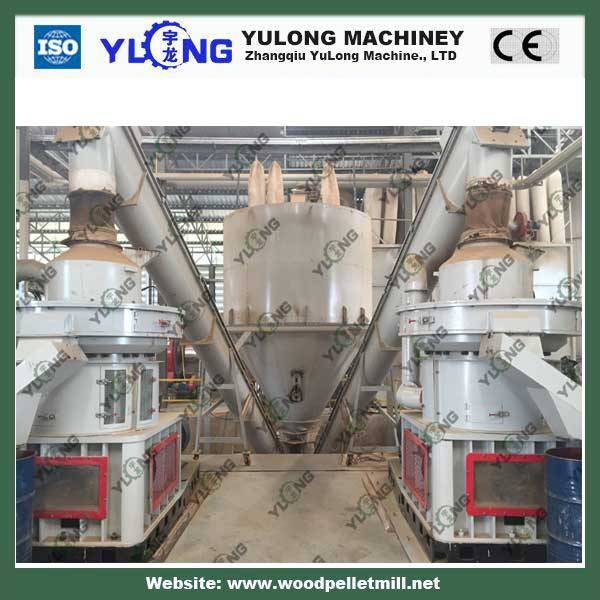 2t/h pellet machine small wood pellet line with CE