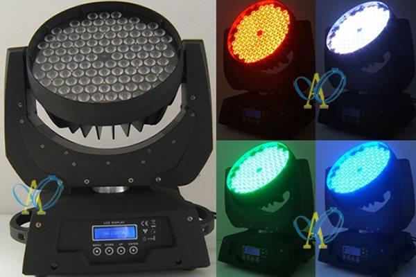 108pcs 3W RGB LED moving head stage light