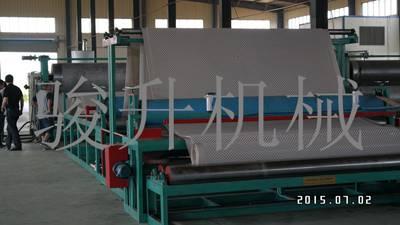 HDPE DRAINAGE BOARD MACHINE
