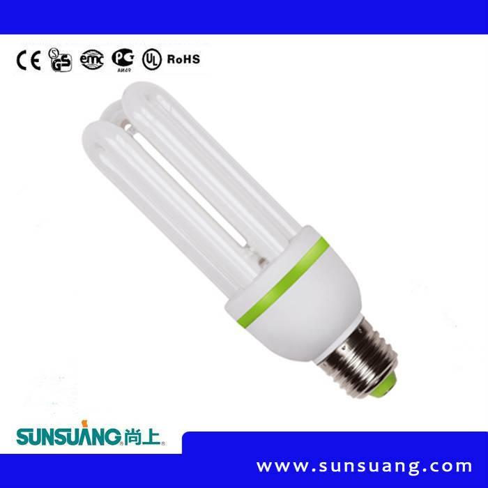 Sunsuang Energy saving lamp 3U 26W E27/E14 6400K/2700K