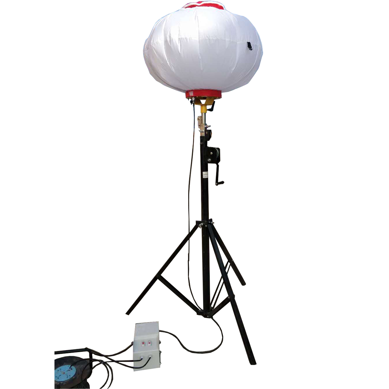 China made portable Tripod balloon light tower for outdoor