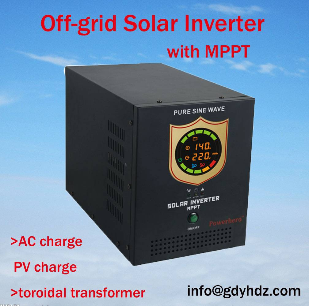 2500VA Hybrid solar Inverter UPS Solar Inverter with High Efficiency