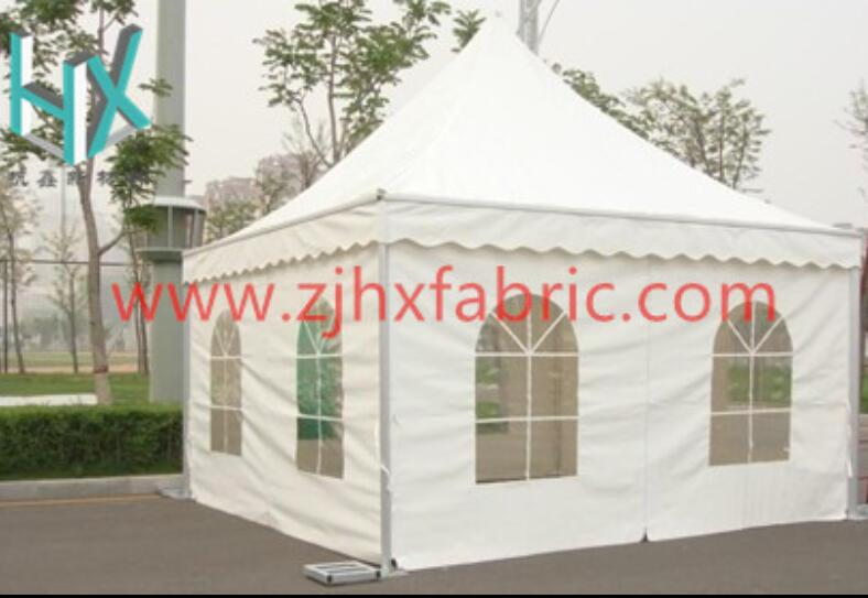 White Fabric Tent Awning Canvas Cover Tarpaulin pagoda