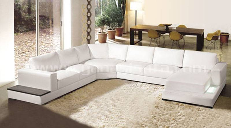 Modern leather furniture sofa A1127