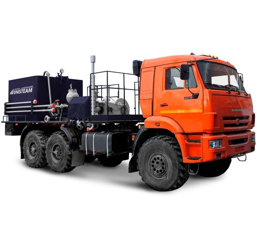 PORTABLE OILFIELD CEMENTING UNIT [TRUCK MOUNTED] UNISTEAM-CA line