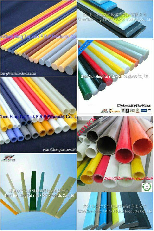 glassfiber/pole/tube/strip high strenth&corrosion resisitance