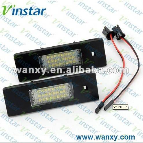 Max brightness led license plate lamp for bmw wholesale