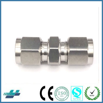 Wisdom Straight Metric Thread Bite Type Tube Fittings Can Replace Parker Fittings Swagelok Fittings