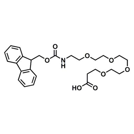 Fmoc-PEG4-propionic acid;Fmoc-15-Amino-4,7,10,13-tetraoxapentadecacanoic acid;CAS#557756-85-1