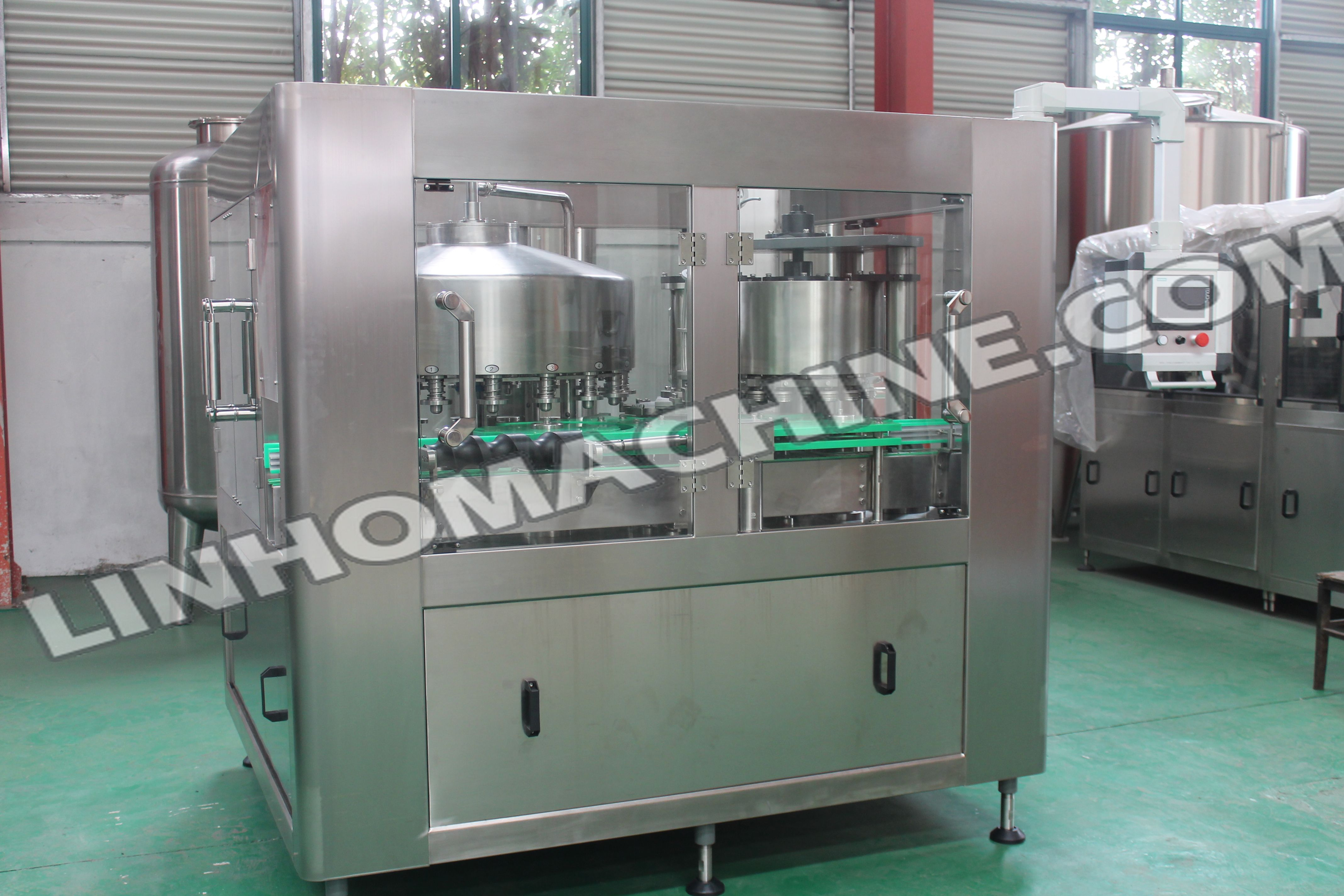 oncarbonated Drink Can Filling Machine
