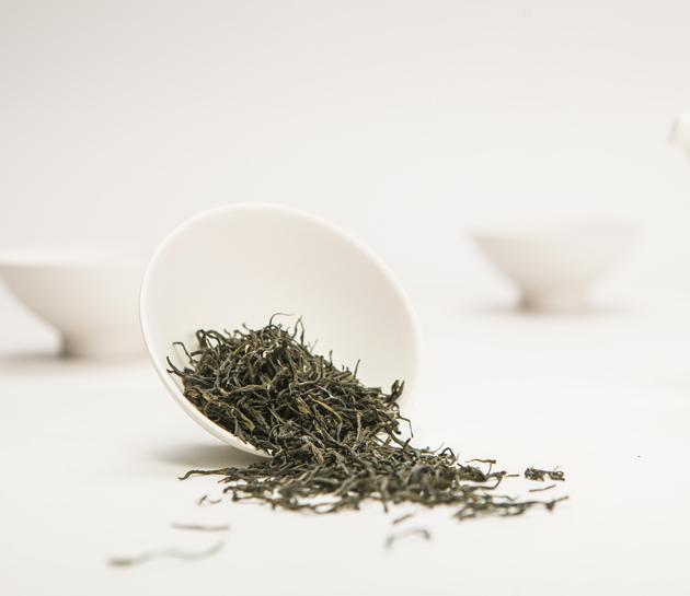 China export Loose organic green tea