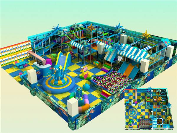 Indoor play structure QF-I03-2101