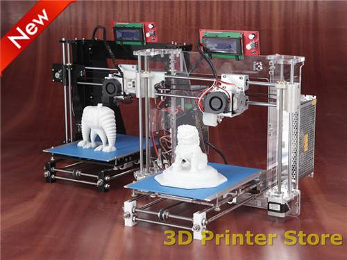 Reprap Prusa i3 3D Printer DIY KIT with 1kg filaments free [Optional] Omron Photoelectric Switch /LC