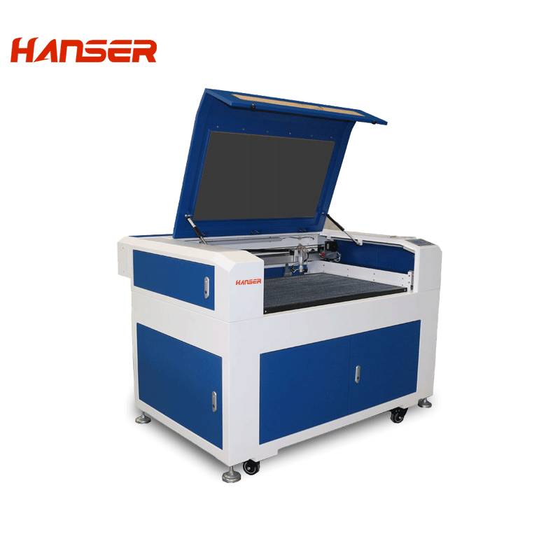 HTE-9060 2 laser engraving and cutting machine
