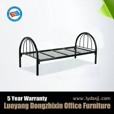 single steel bed