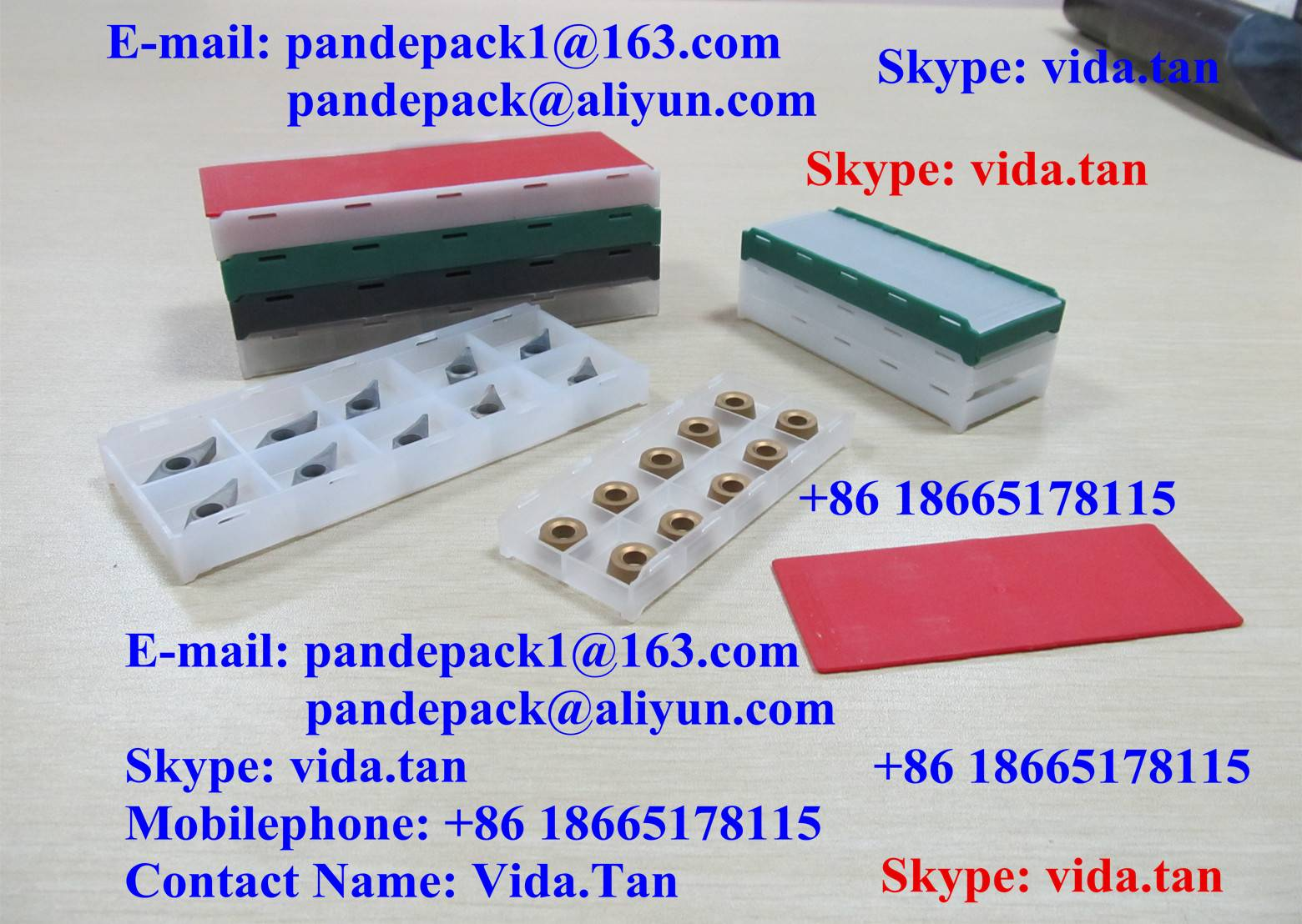 Sell InsertClickBox/InsertBox/Blade Box/Plastic Box/Package/Cutting Tool Box/Package/Tool Pack/Box