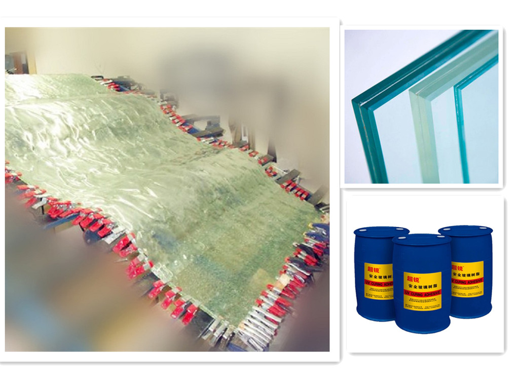 SAOSA bullet resistant glass laminated resin for cost saving